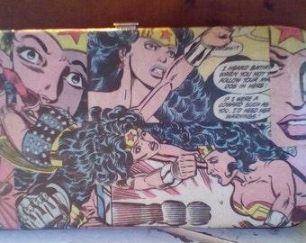 Wonder Woman Comic Wallet