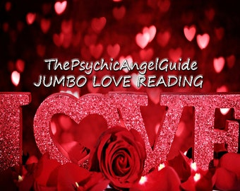 PSYCHIC LOVE READING 70 Minute Jumbo Session Plus, Psychic, Tarot, Oracle, Lenormand,crystal ball, crystals, Video format plus .Jpg