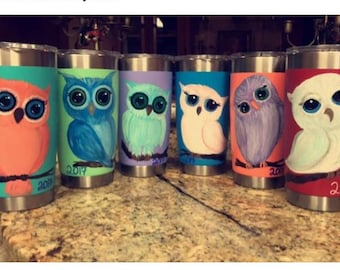 Hand Painted Cups
