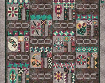 Boho Bliss Block-of-the-Month Full Quilt