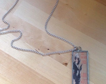 vintage pin-up sailor/ coast guard necklace