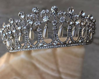Our Princess Diana Tiara, Lover's Knot Cambridge Inspired, Royal Tiara, Queen Mary, Elizabeth, Bridal Crown, Wedding, Pageant