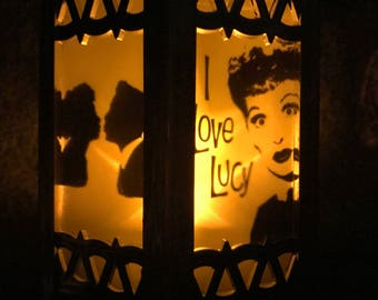 I love Lucy Inspired Battery-Operated Plastic Mini Lanterns