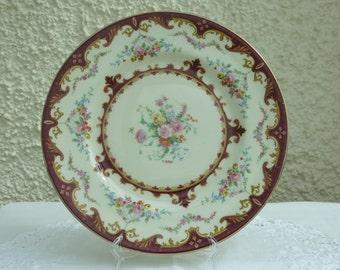 Vintage Decorative Plate by Myott, Staffordshire