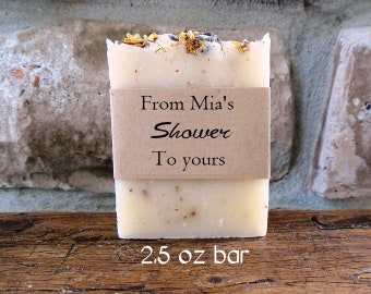 Party Favors - Lavender Chamomile - Handmade soaps - Bulk Soap- Favors - Soap Favor - Soap Favors - Bridal Shower Favors - Soap in Bulk