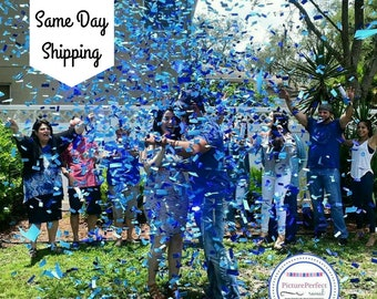 Gender Reveal | Gender Reveal Party| Gender Reveal Ideas| Gender Reveal Confetti Cannon| Smoke Bomb Alternative| Baseball or Bows| Popper