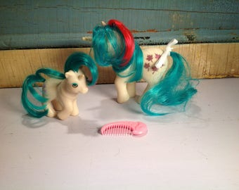Vintage my little pony Gusty