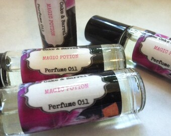 Magic Potion Perfume Oil. 10ml Roll On Bottle.