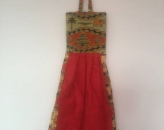 Original ethnic towel with wax