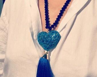 My heart in blue