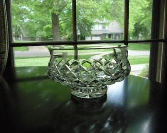 Waterford Footed Bowl