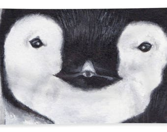 Penguin Beach Towel