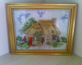 country cottage cross stitch