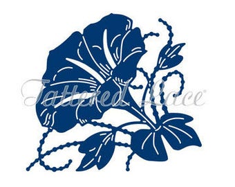 Tattered Lace Die - Lavish Floral - TLD0548