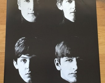 The Beatles Black And White Group Photo Poster 24 X 36