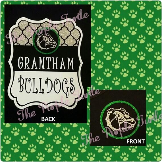 GRANTHAM BULLDOGS Frame Design Short Sleeve Tee