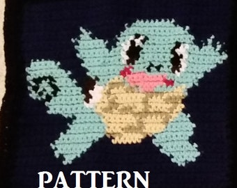 Squirtle Individual pattern