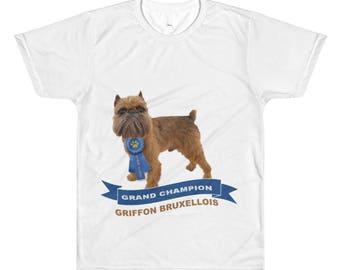 GRIFFON BRUXELLOIS CHAMPION  T-shirts