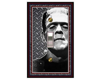 0662a Frankenstein Monster - mrs butler switch plate covers -
