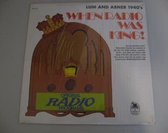 When Radio Was King! - Lum And Abner 1940's - Circa 1974