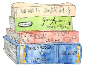 Jane Austen Perfume Collection, Literary Fragrance, Perfume Gift, Bookworm Gifts, Literary Scented, Bookish Gift, Author, Library Scent,