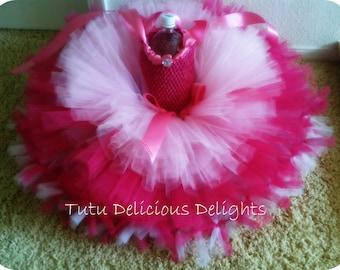 Pretty In Pink 3 layered Tutu Dress