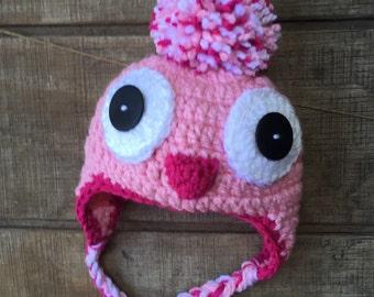Penguin Hat, Crochet Penguin Hat, Penguin Crochet Hat