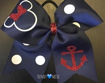 Minnie anchor bow