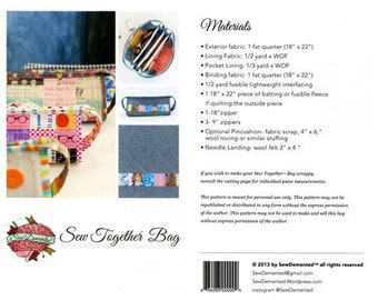 Sew Together Bag by SewDemented
