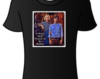 Norman Bates Motel/Freddie Highmore T-shirt.