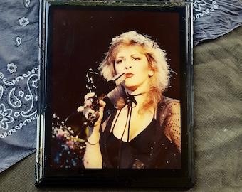 Vintage Stevie Nicks LIVE Resin Photo / Wall Hanging Fleetwood Mac
