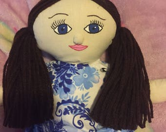 Cloth Baby Doll Made to Order