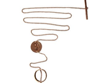 By BIEK necklace ' Cu ' from recycled copper | Collection ' Cu '