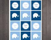 PRINTABLE Elephant Thank ...