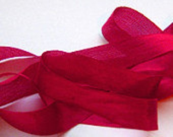 "Lipstick Red Vintage Hug Snug (3 Yards) 1/2"" Seam Binding"