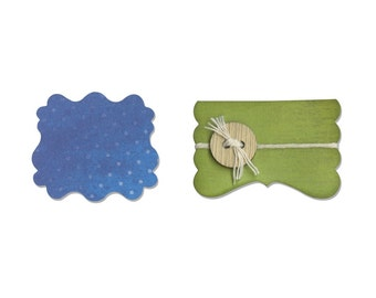 Sizzix Movers and Shapers Magnetic Die Set 2PK - Door & Label by Sharyn Sowell
