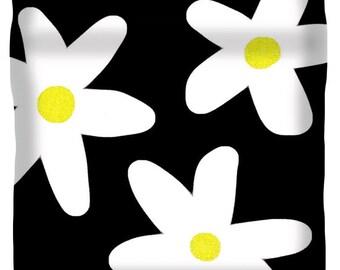 White Daisy Duvet Cover,Unique Duvet,Hippie Duvet,King,Queen,Full,Twin,Bedroom Decor,Home Interior,Flower Comforter Cover,Daisies, Bedding