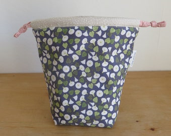 Project Bag - Sweet and Simple drawstring bag, SMALL