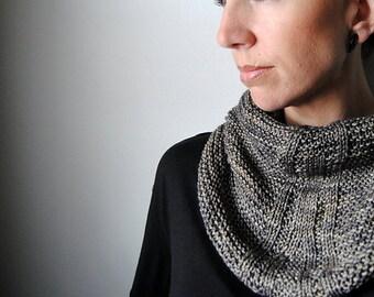 LINEAGE cowl knitting pattern pdf