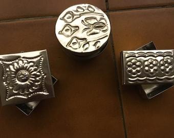 Super Sale / Cajas de laton / Mexican Jewelry box of brass