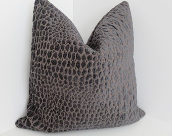 Swavelle/Milk Creek Fabrics- Gabbana Smoke Pillow Covers- Smoke Pillows - Pillow Covers- Accent Pillows- Mill Creek Pillows