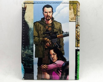 Sewn Comic Book Wallet - Firefly / Serenity - Jayne and River (b)
