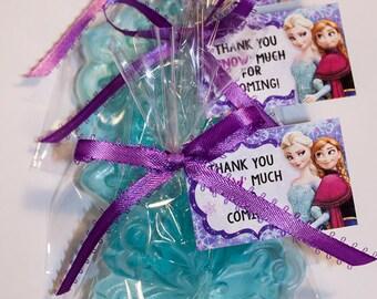 12 Frozen Soap Favors, Disney Frozen, Frozen Birthday Party Favors