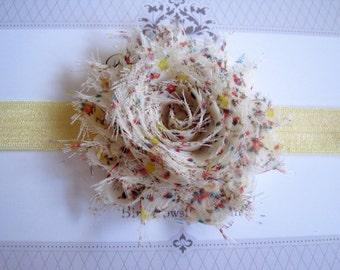 Floral Headband, Baby Headbands, Newborn Headbands, Infant Headbands, Baby Girl Bow, Infant Hair Bow,