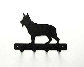 German Shepherd Leash Rack