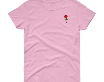 Rose Short Sleeve T-Shirt