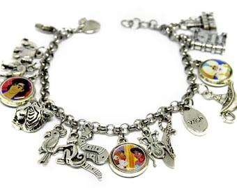 Bracelet with Resin pendants * ALADDIN *