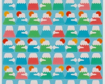 Mt Fuji Stickers - Kawaii Stickers - Japanese Stickers - Reference C3302