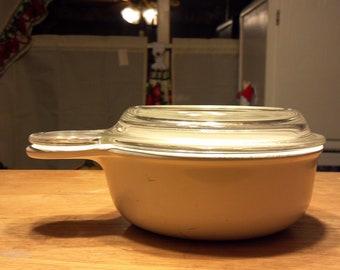 CORNING white grabit & clear lid
