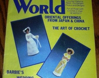 vintage crochet patterns ...  CROCHET World MAGAZINE BARBIE Wedding vintage patterns ...